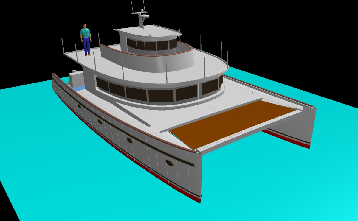 Kurt Hughes Multihull Design - Catamarans and Trimarans for Cruising ...