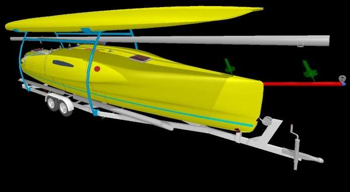Hot Boat plans trimaran | Boat build
