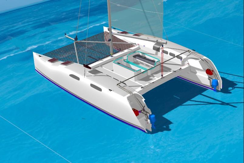 Kurt Hughes Multihull Design - Catamarans and Trimarans for